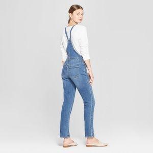 Universal Thread Jeans - Universal Thread Straight Leg Denim Overalls